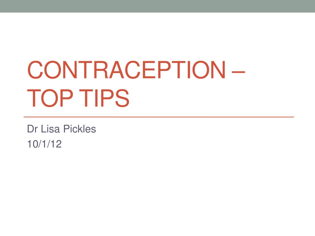 contraception top tips l.