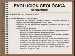 evoluci n geol gica cenozoico