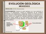 evoluci n geol gica mesozoico
