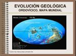 evoluci n geol gica ordov cico mapa mundial