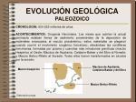 evoluci n geol gica paleozoico
