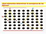 qu elementos determinan la semejanza de las figuras