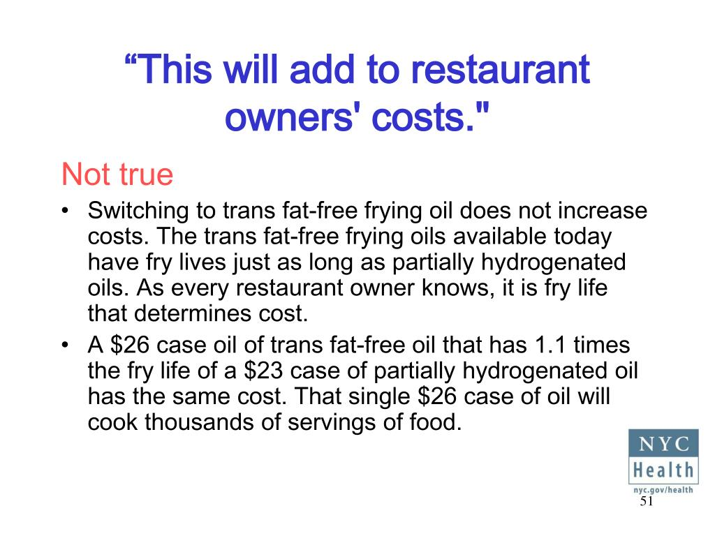 """This will add to restaurant owners' costs."""