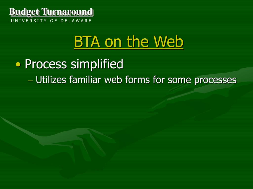 BTA on the Web