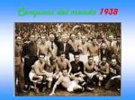 campioni del mondo 1938