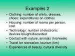 examples 2