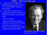 1980s the lost decade