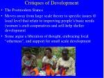 critiques of development11