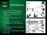 websplitter