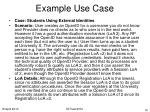example use case10