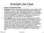 example use case11