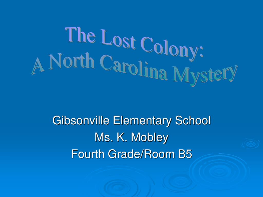 gibsonville elementary school ms k mobley fourth grade room b5 l.
