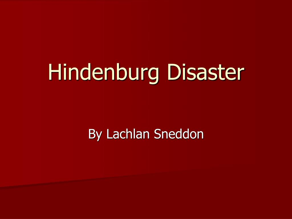 hindenburg disaster l.