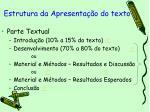 estrutura da apresenta o do texto13
