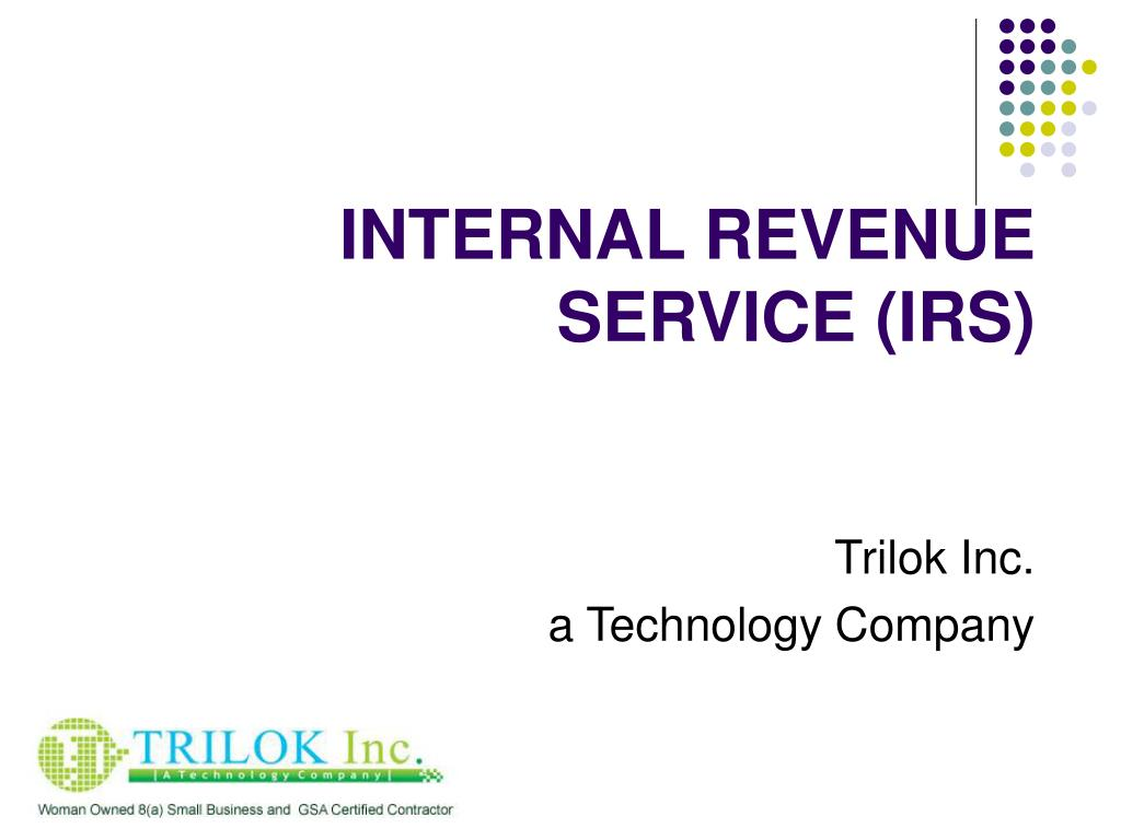 internal revenue service irs l.