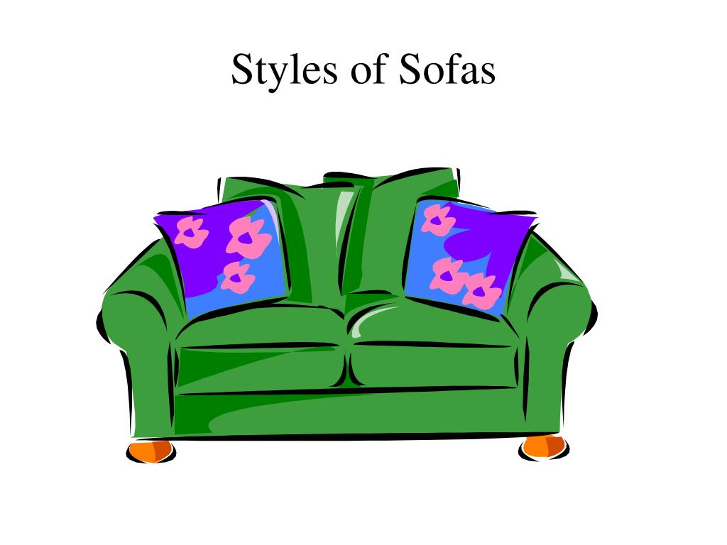 styles of sofas l.
