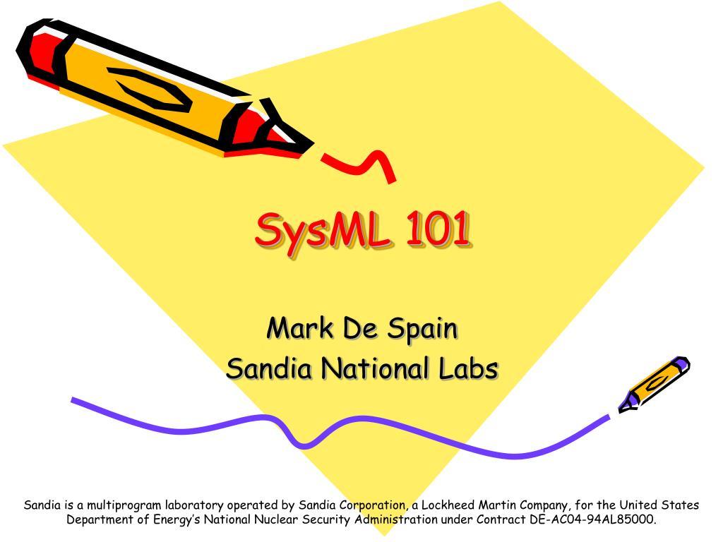 sysml 101 l.