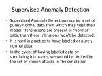 supervised anomaly detection