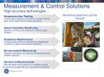 measurement control solutions high accuracy technologies