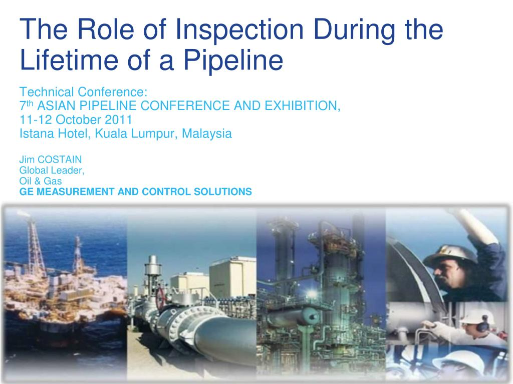 the role of inspection during the lifetime of a pipeline l.
