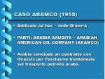 caso aramco 1958