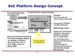 soc platform design concept