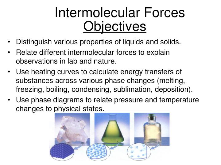"""intermolecular forces lab Summary in this lab, students will investigate the idea that """"like dissolves like"""" by discovering which liquids are best suited for dissolving various substances."""