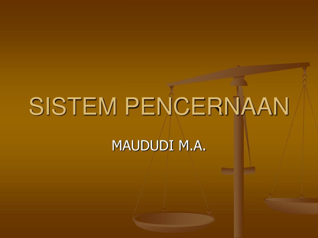 sistem pencernaan l.
