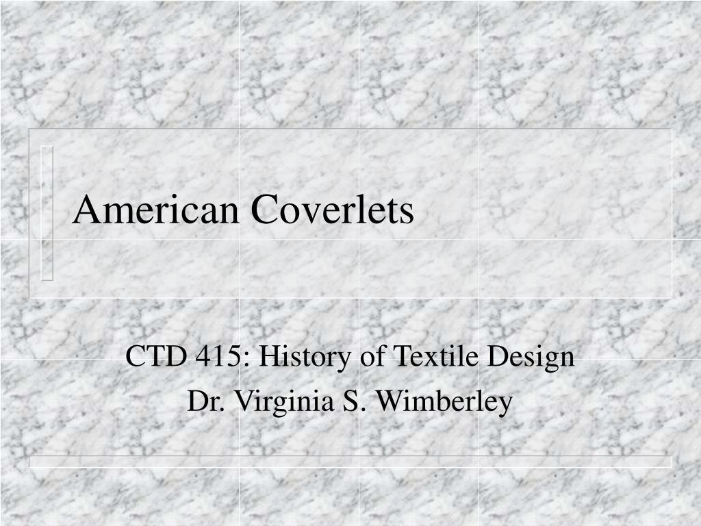 american coverlets l.
