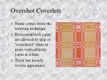 overshot coverlets16