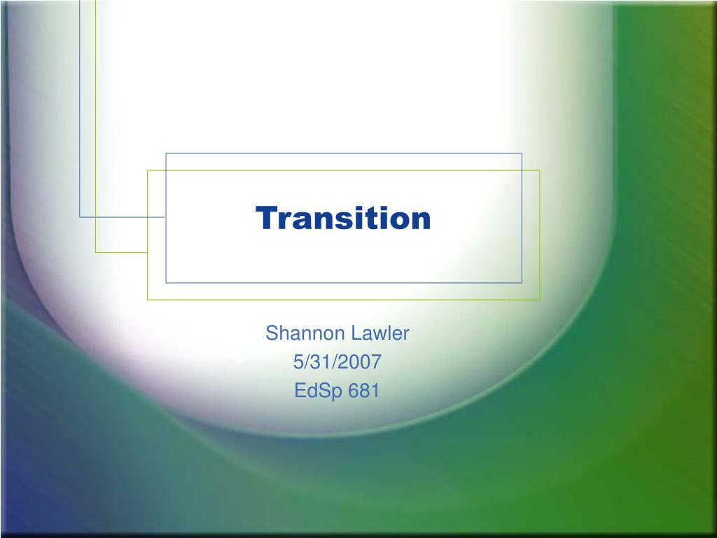 transition l.