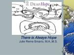there is always hope julie rems smario m a m s