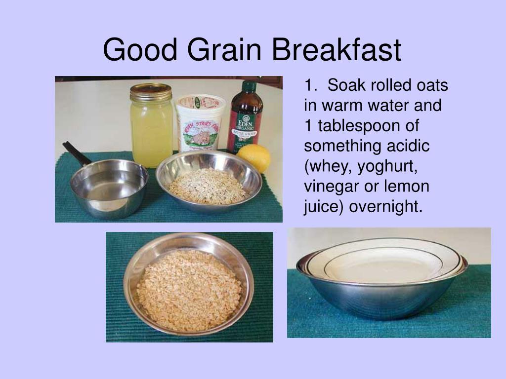 Good Grain Breakfast