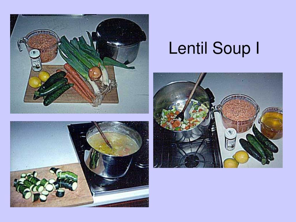 Lentil Soup I
