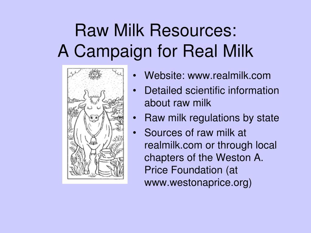 Website: www.realmilk.com