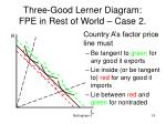 three good lerner diagram fpe in rest of world case 219