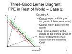 three good lerner diagram fpe in rest of world case 220