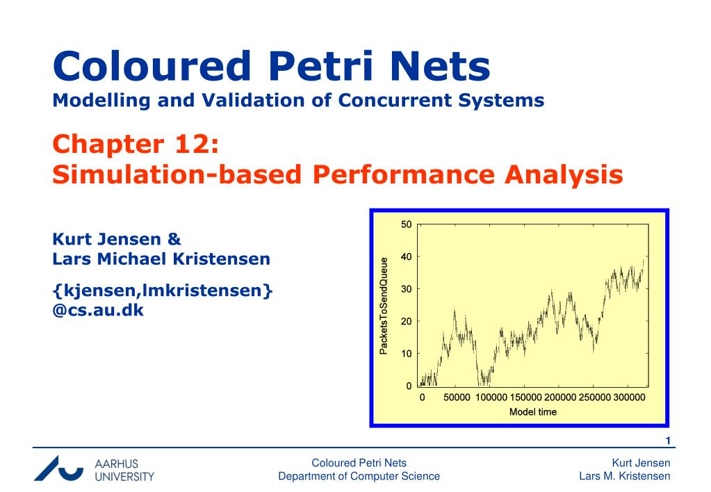 coloured petri nets modelling and validation of concurrent systems l.