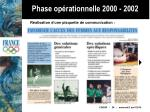 phase op rationnelle 2000 200226