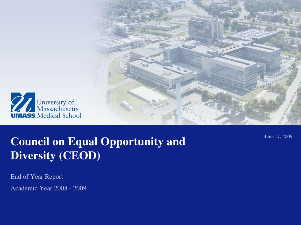 council on equal opportunity and diversity ceod l.