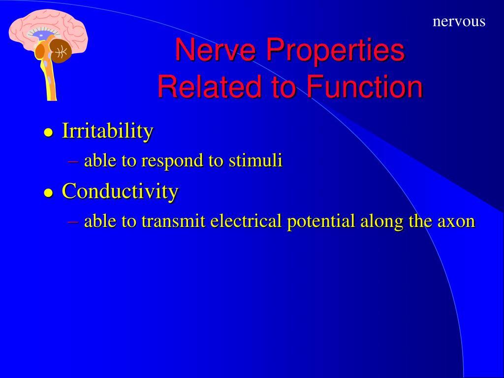 Nerve Properties
