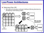 low power architectures12