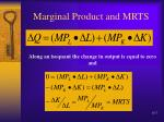 marginal product and mrts7