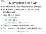 submachine code gp