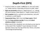 depth first dfs