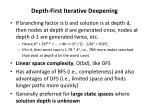depth first iterative deepening