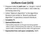 uniform cost ucs