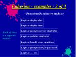 cohesion examples 3 of 3