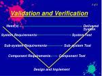 validation and verification27