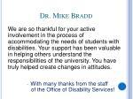 dr mike bradd
